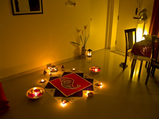 Deepavali home d cor tips propertyguru for Ideas for home decoration on diwali