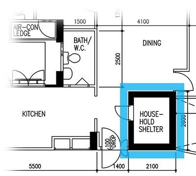 4 clever uses for your household shelter propertyguru for Hdb household shelter design