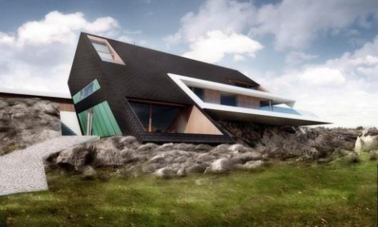 5 most futuristic home concepts in the world propertyguru for Edge house design