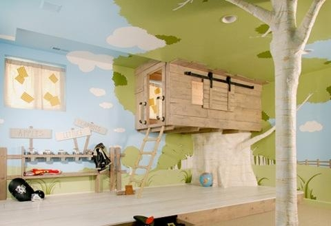 tree house beds for kids. with the tree house and
